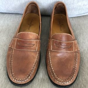 Cole Haan Men's Brown Penny Loafer Shoes Size 11M